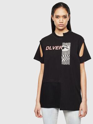 T-GOMEZ, Black - T-Shirts