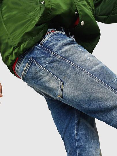 Diesel - D-Reeft JoggJeans 0870Q, Medium blue - Jeans - Image 3