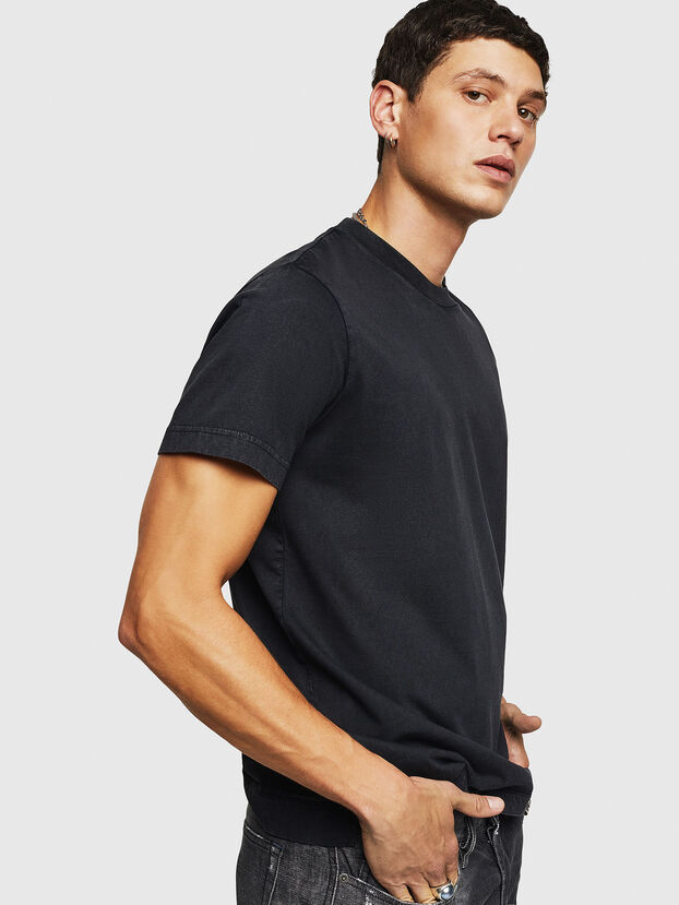 T-THURE, Black - T-Shirts