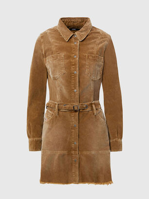 D-SHAY-A, Light Brown - Dresses