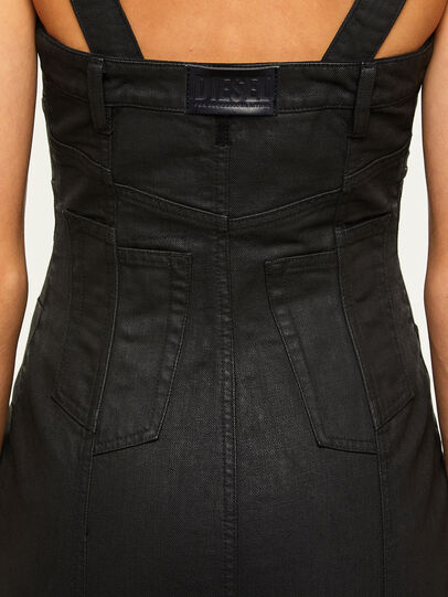 Diesel - DE-VOLCANO-SX, Black - Dresses - Image 5