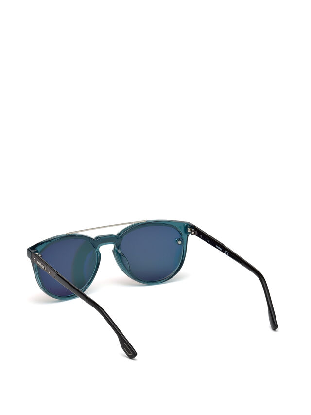 Diesel - DL0216, Blue/Orange - Sunglasses - Image 2