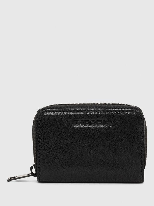 JAPAROUND, Black/Orange - Zip-Round Wallets