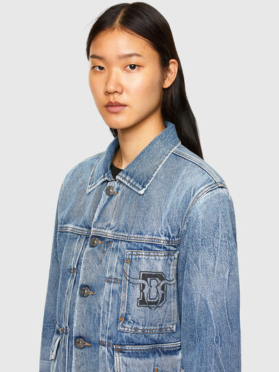 Diesel - CL-D-BIL, Light Blue - Denim Jackets - Image 5