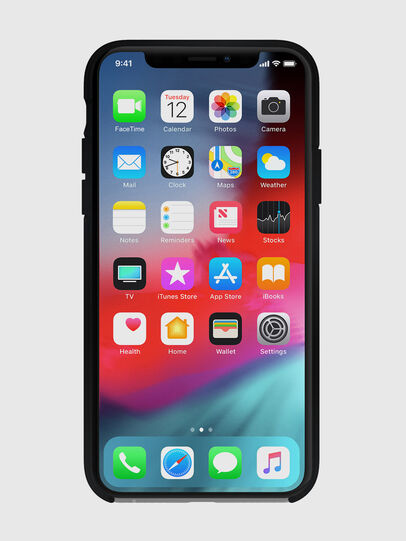 Diesel - DIESEL PRINTED CO-MOLD CASE FOR IPHONE XS MAX, Black - Cases - Image 4