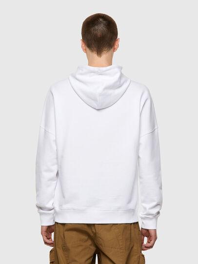 Diesel - S-KRIB-HOOD-ROMOHI, White - Sweaters - Image 2