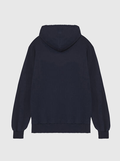 Diesel - S-GIR-HOOD-DIVISION-, Dark Blue - Sweaters - Image 2
