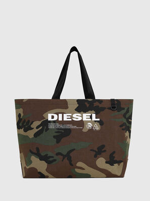 D-THISBAG SHOPPER L, Green Camouflage - Shopping and Shoulder Bags