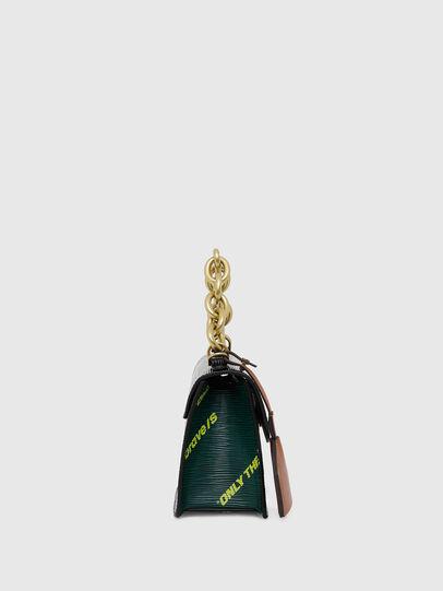 Diesel - ORMELLE MC, Black/Green - Crossbody Bags - Image 3
