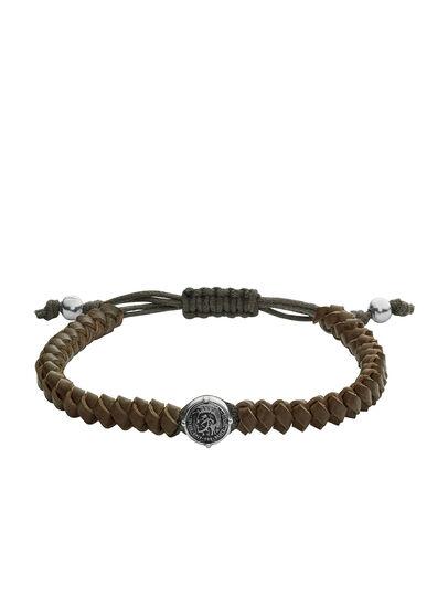 Diesel - BRACELET DX1046, Olive Green - Bracelets - Image 1