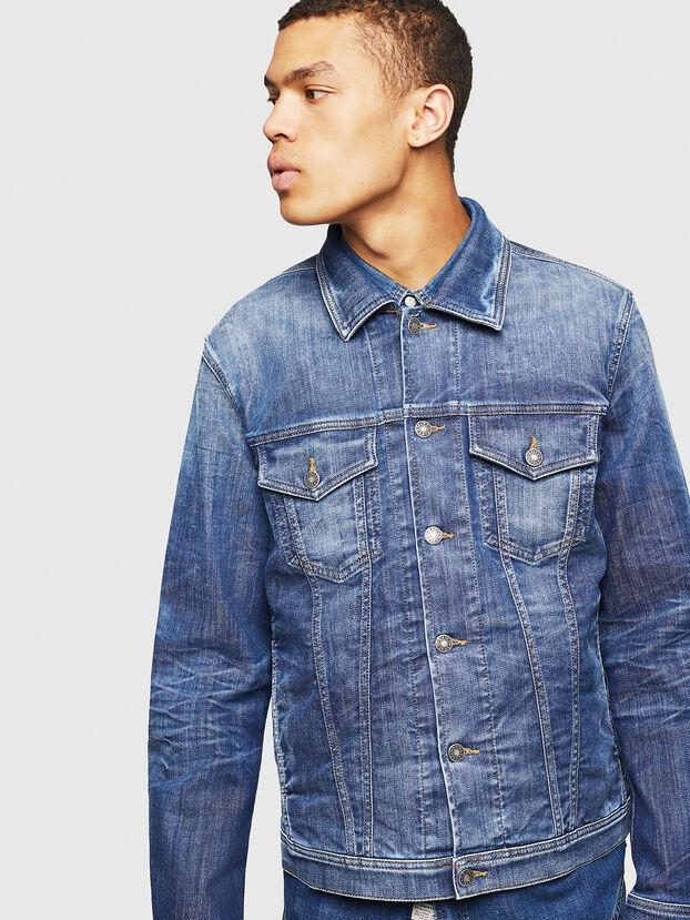 NHILL-TW, Blue Jeans - Denim Jackets