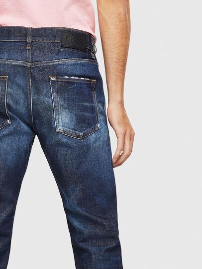 Diesel - D-Strukt 009BH, Dark Blue - Jeans - Image 4