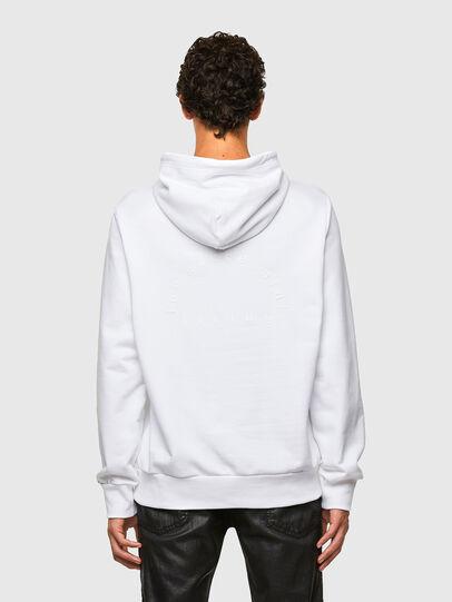 Diesel - S-GIRPO-HOOD, White - Sweaters - Image 2