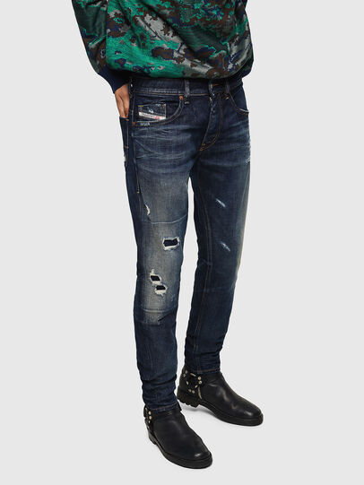 Diesel - Thommer 0890W, Dark Blue - Jeans - Image 1