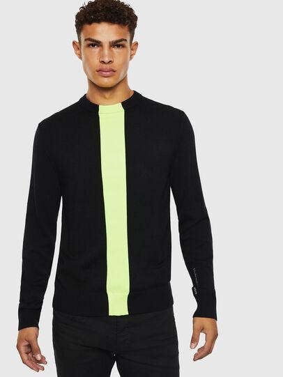Diesel - K-TAPEX, Black - Knitwear - Image 1