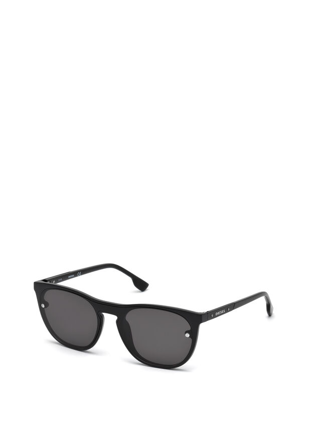 Diesel - DL0217, Black - Sunglasses - Image 4