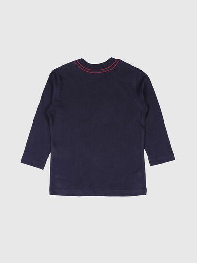 Diesel - TOQUEB-R, Navy Blue - T-shirts and Tops - Image 2