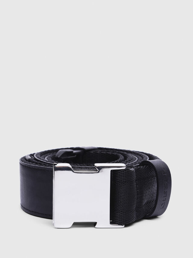 Diesel - B-ALTIVOLE, Black - Belts - Image 1