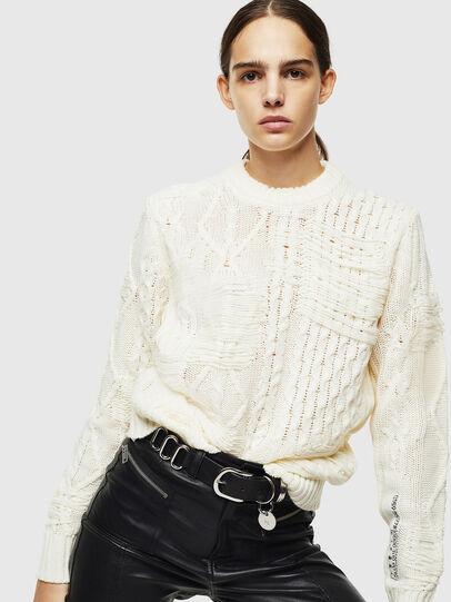 Diesel - K-BRIGLY, White - Knitwear - Image 6