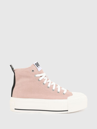 Diesel - S-ASTICO DSL ML WEDG, Pink - Sneakers - Image 1