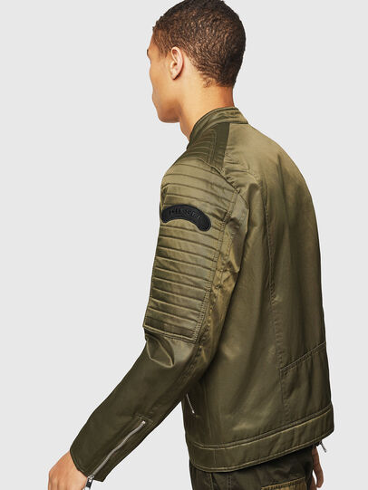 Diesel - J-SHIRO, Military Green - Jackets - Image 4