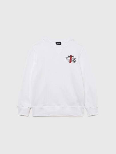 Diesel - UMLT-SWILLYZ, White - Sweaters - Image 1
