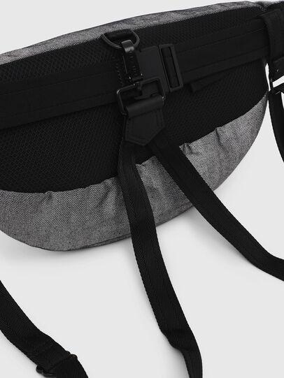 Diesel - TRIBELT, Gray/Black - Backpacks - Image 4
