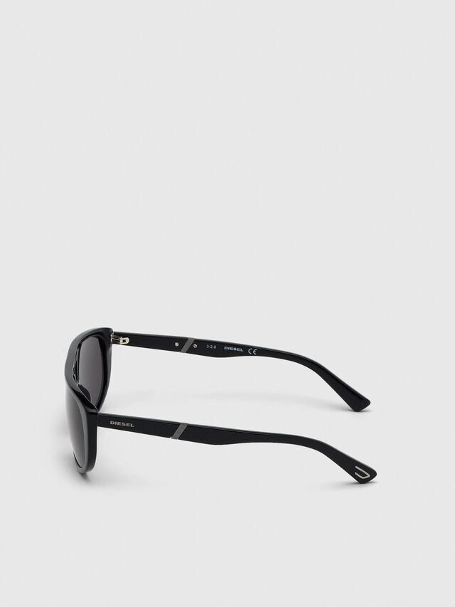 Diesel - DL0300, Black - Sunglasses - Image 3
