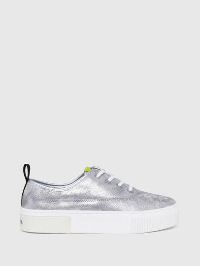 Diesel - S-VANEELA LC, Silver - Sneakers - Image 1