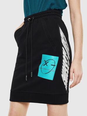 O-NYUSHA-C, Black - Skirts