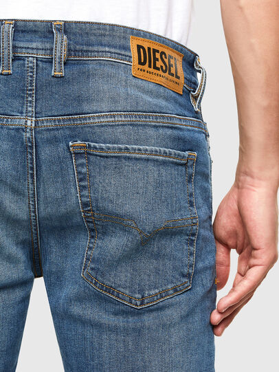 Diesel - Sleenker 069FZ, Medium blue - Jeans - Image 4