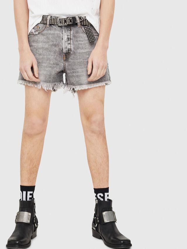 Diesel - D-KORT, Light Grey - Shorts - Image 1