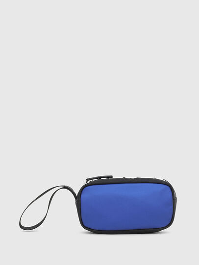 Diesel - BOLD POUCH, Blue/Black - Bags - Image 1