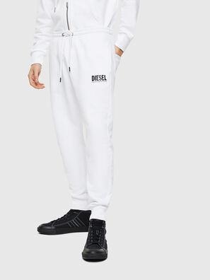 P-TARY-LOGO, White - Pants