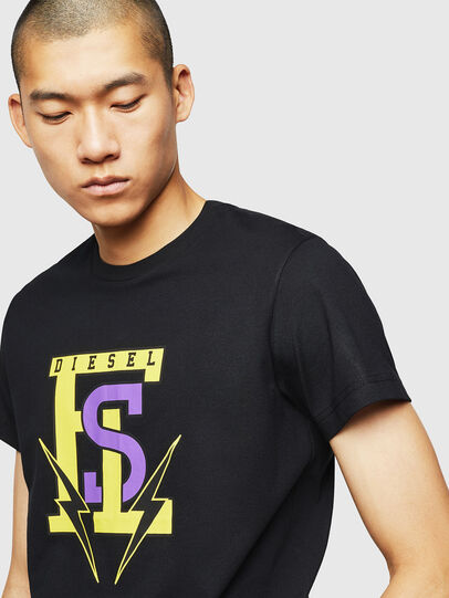 Diesel - T-DIEGO-B3, Black - T-Shirts - Image 3