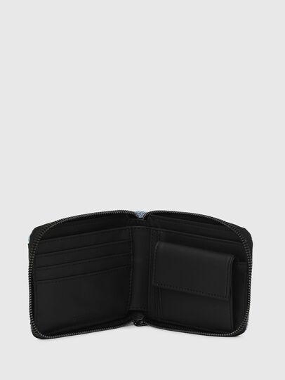 Diesel - ZIPPY HIRESH S, Blue Jeans - Zip-Round Wallets - Image 3