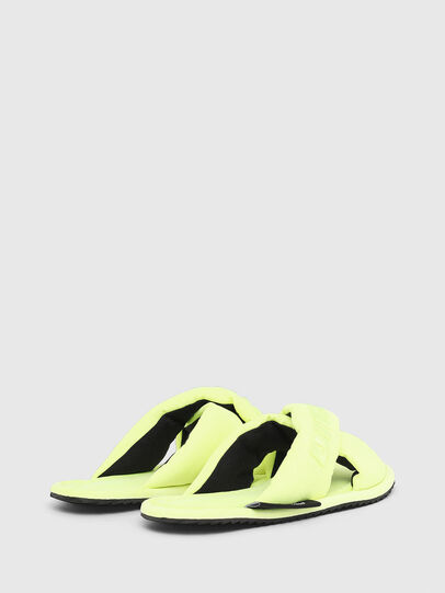 Diesel - SA-MERY X, Yellow Fluo - Slippers - Image 3