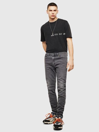 Diesel - D-Amny 009AJ, Black/Dark grey - Jeans - Image 5