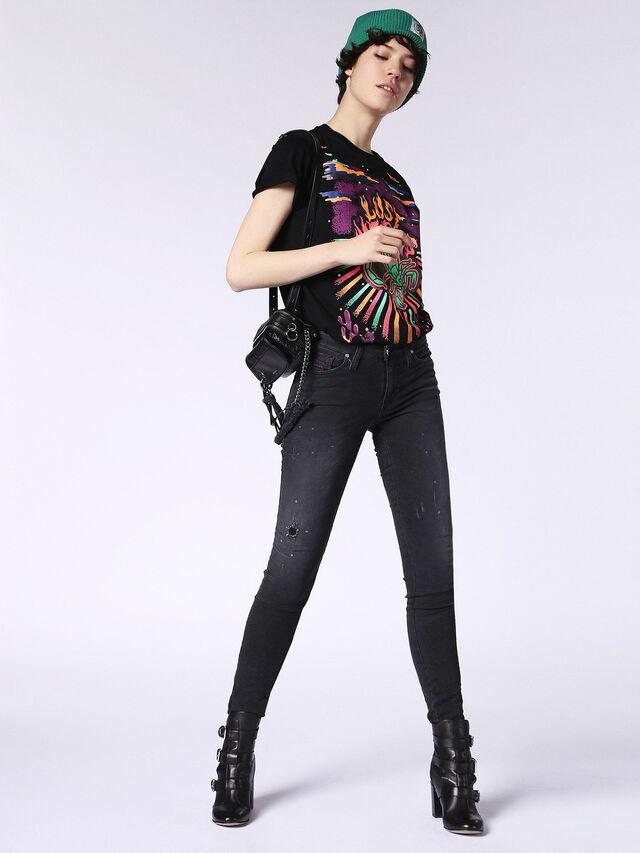 SKINZEE JOGGJEANS 0687N, Black Jeans
