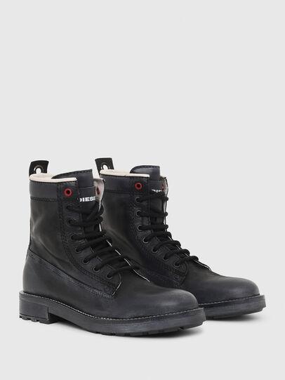 Diesel - D-THROUPER DBB W, Black - Ankle Boots - Image 2