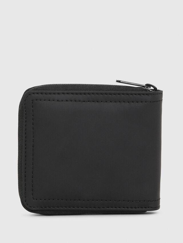 Diesel - ZIPPY HIRESH S, Black/Red - Zip-Round Wallets - Image 2