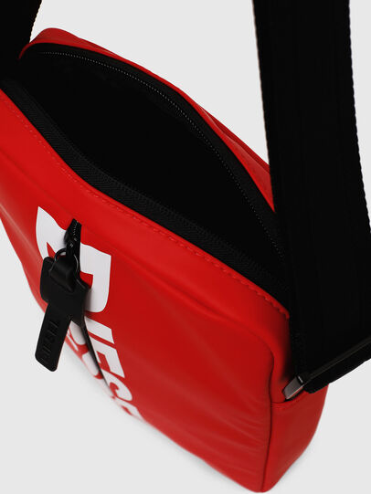 Diesel - F-BOLD SMALL CROSS, Red - Crossbody Bags - Image 5