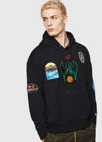 S-ALBY-PATCHES, Black