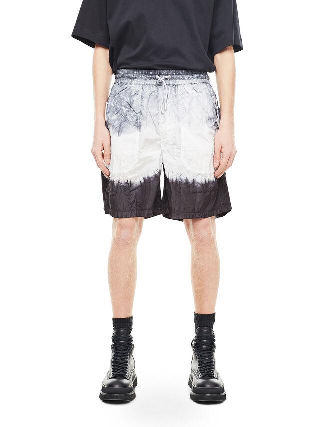 Diesel - PAIDAY, Black/White - Shorts - Image 1