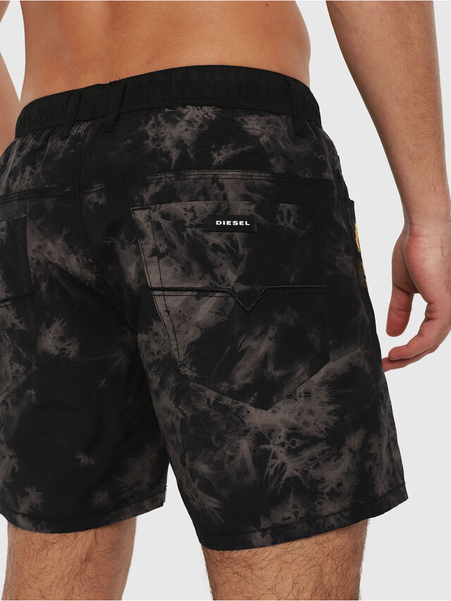 Diesel - BMBX-WAYKEEKI 2.017, Black - Swim shorts - Image 4