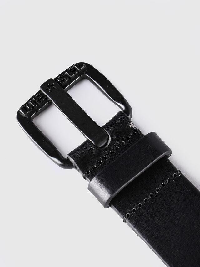 Diesel - B-STAR, Black Leather - Belts - Image 2