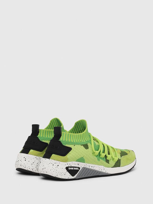 Diesel - S-KB SL W, Green Fluo - Sneakers - Image 3
