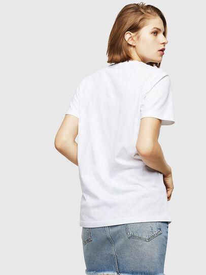 Diesel - T-FOIL, White - T-Shirts - Image 2