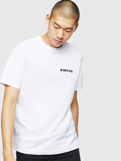 Diesel - T-JUST-B31, White - T-Shirts - Image 1
