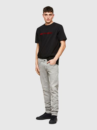 Diesel - Sleenker 009PY, Light Grey - Jeans - Image 5